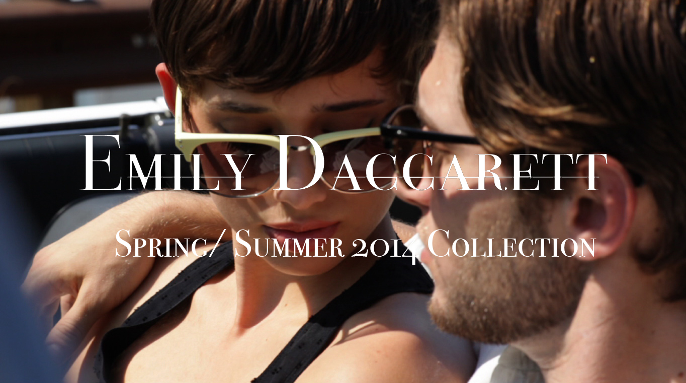 Emily Daccarett SS14 Fashion Video Cover