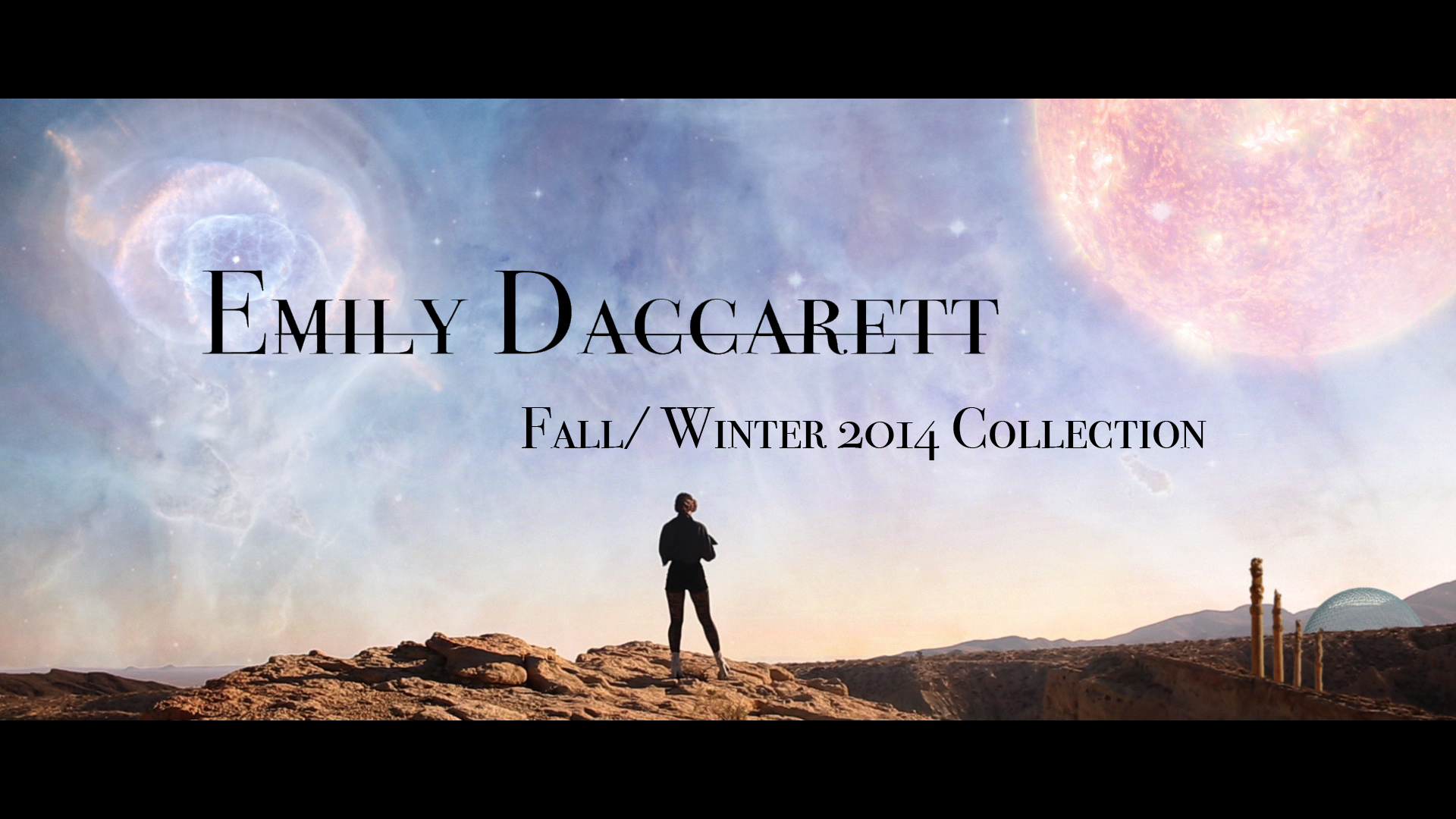 Emily Daccarett FW14 Fashion Video Cover