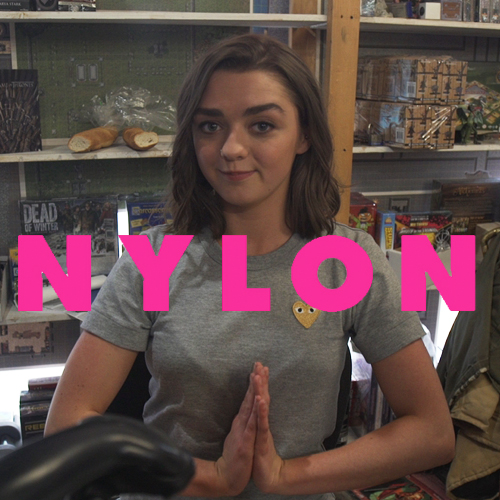 NYLON Maisie Williams Portfolio Square 500X500
